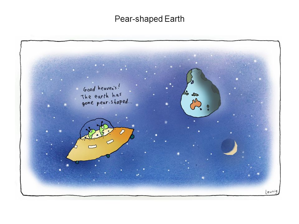 Pear-shaped Earth