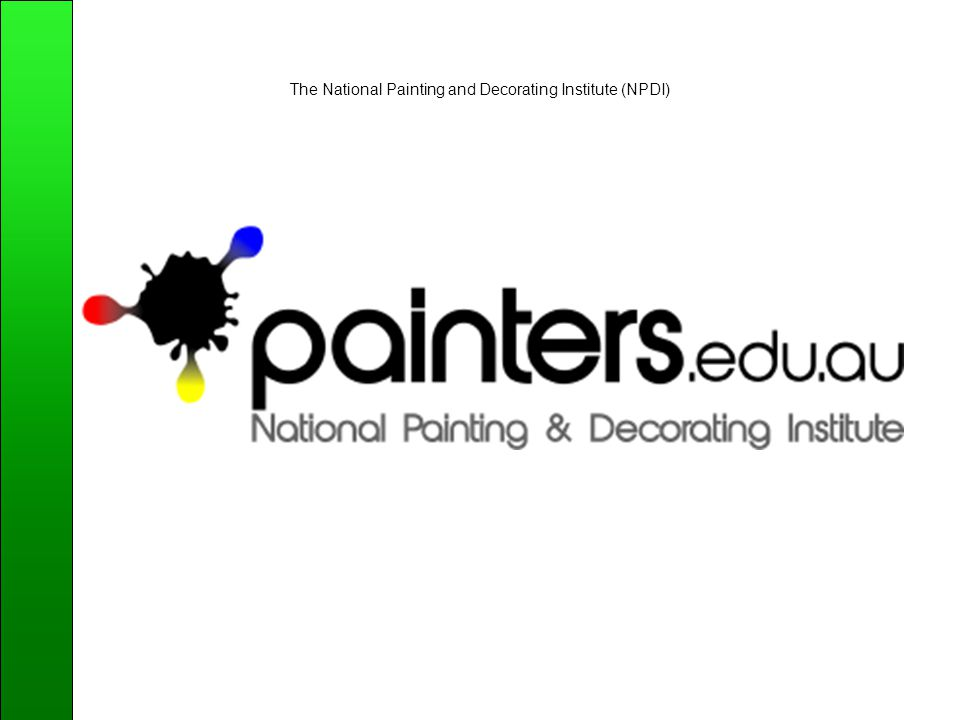 The National Painting and Decorating Institute (NPDI)