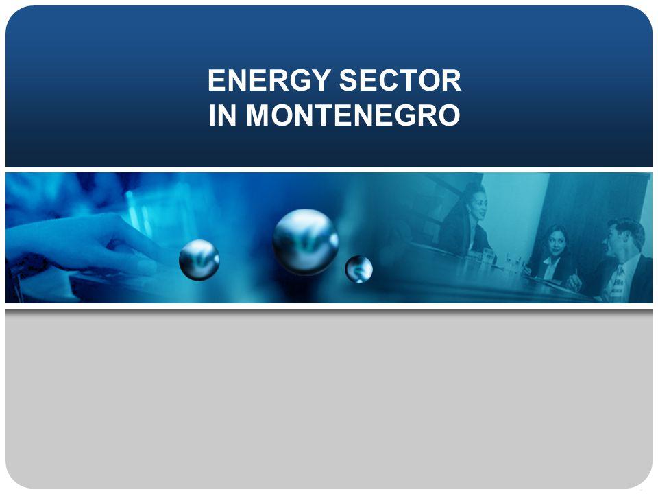 ENERGY SECTOR IN MONTENEGRO