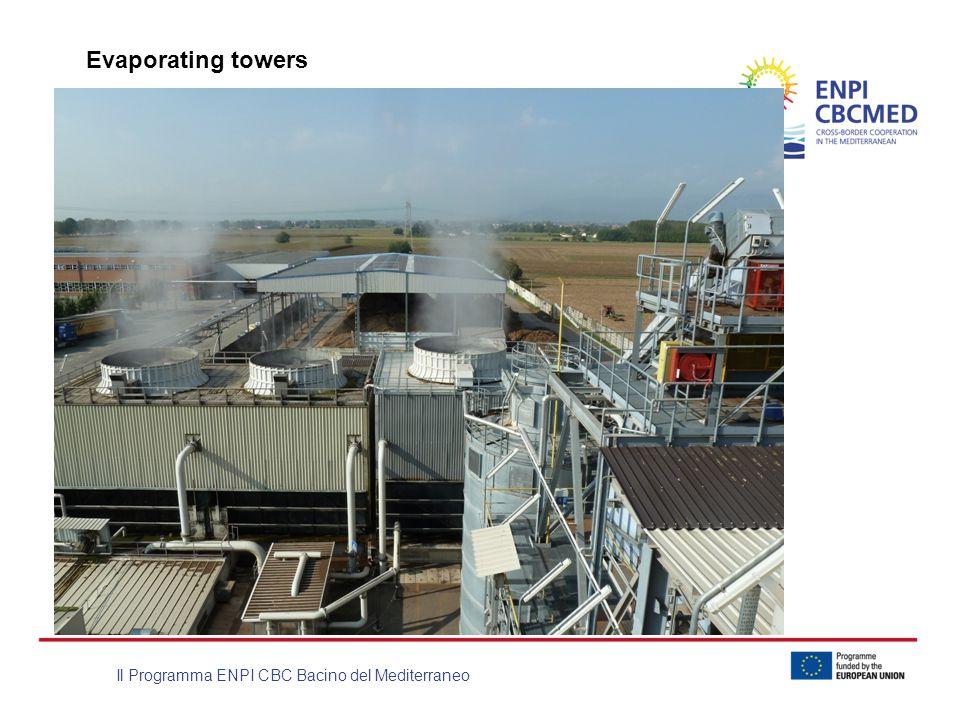 Il Programma ENPI CBC Bacino del Mediterraneo Evaporating towers