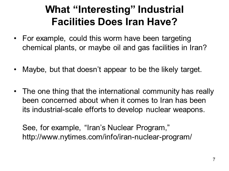 7 What Interesting Industrial Facilities Does Iran Have.