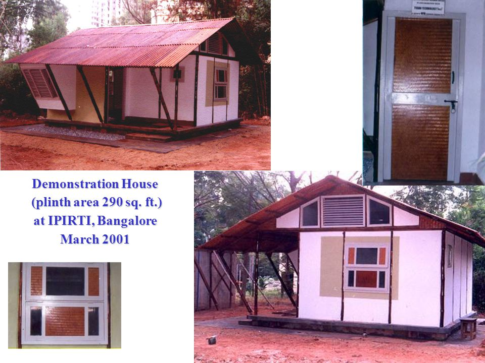 Demonstration House (plinth area 290 sq.ft.) (plinth area 290 sq.