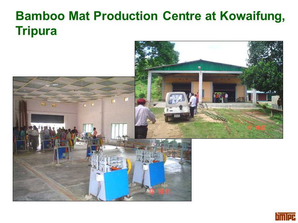 Bamboo Mat Production Centre at Kowaifung, Tripura