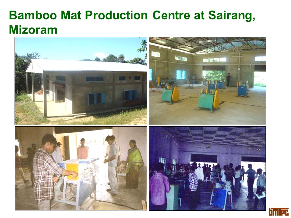 Bamboo Mat Production Centre at Sairang, Mizoram