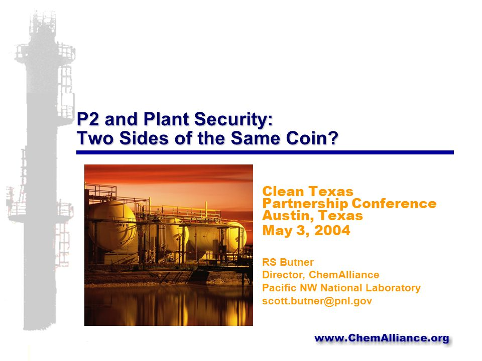 P2 and Plant Security: Two Sides of the Same Coin.