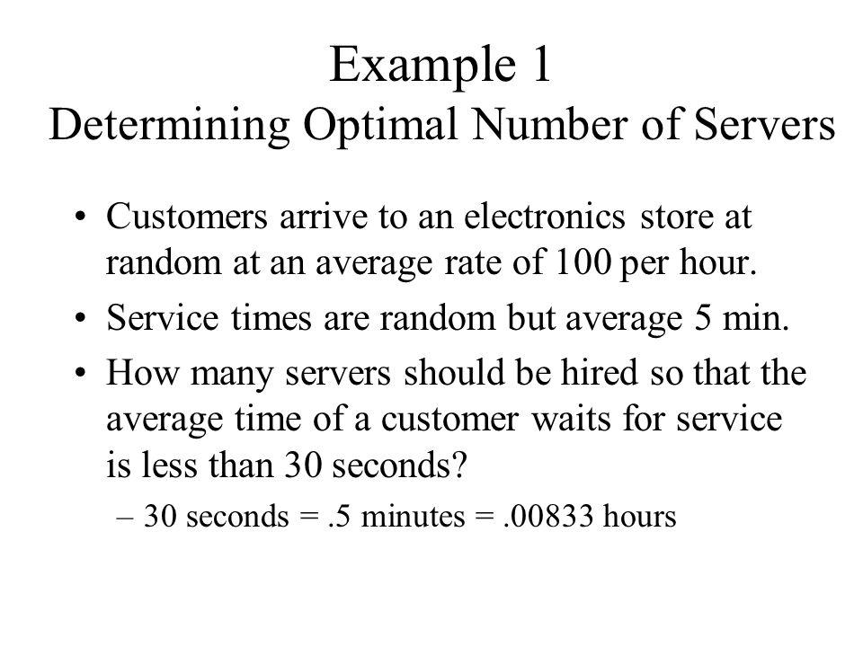 Option 3 -- 2 clerks, 2 lanes Store = 24/hr.