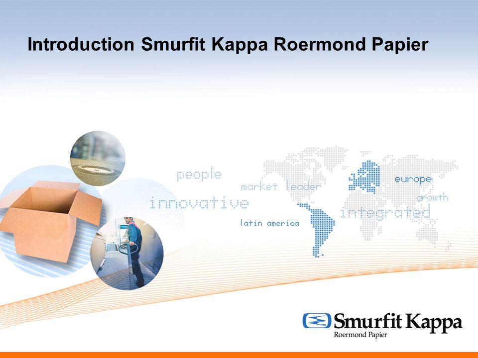 Introduction Smurfit Kappa Roermond Papier