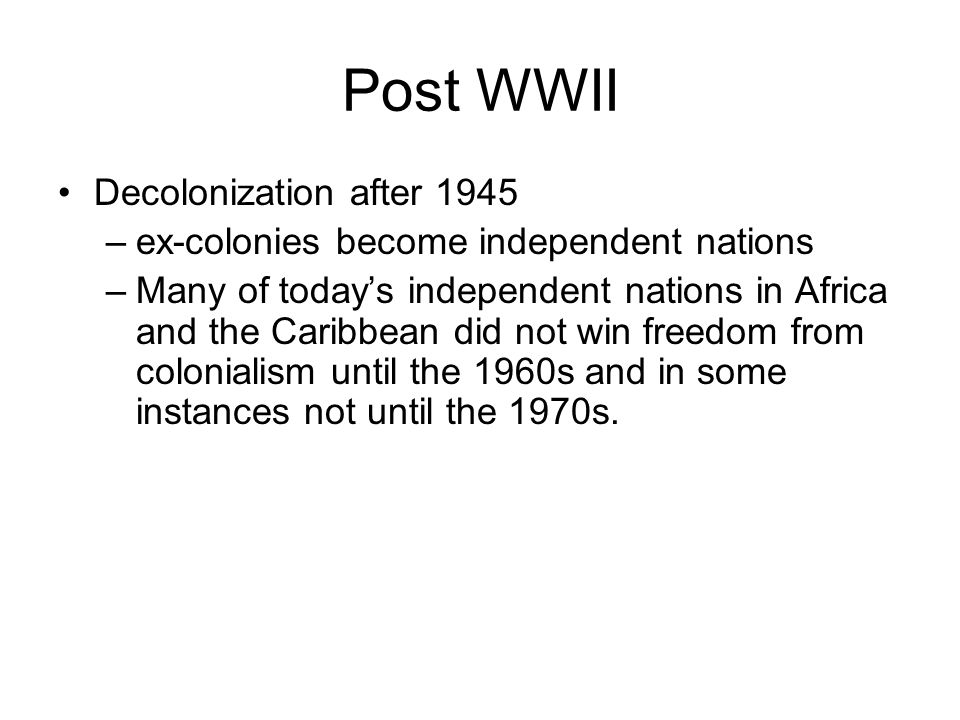 Is colonialism only a historical event? Does history matter?