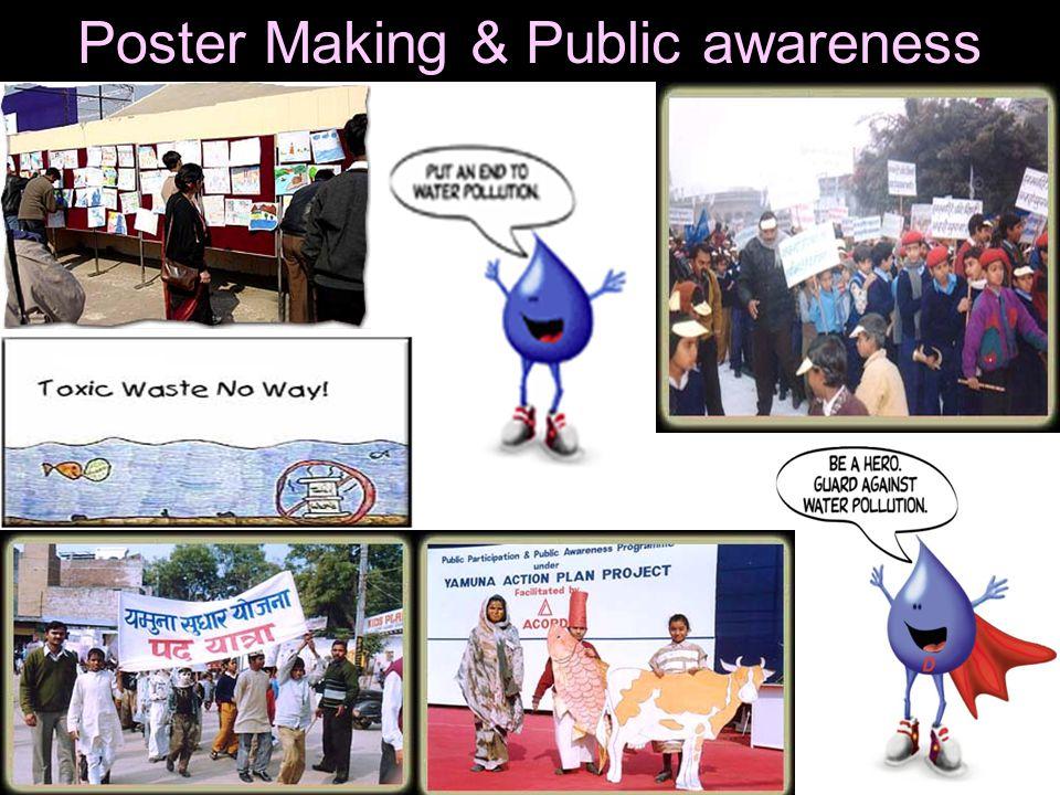 Poster Making & Public awareness
