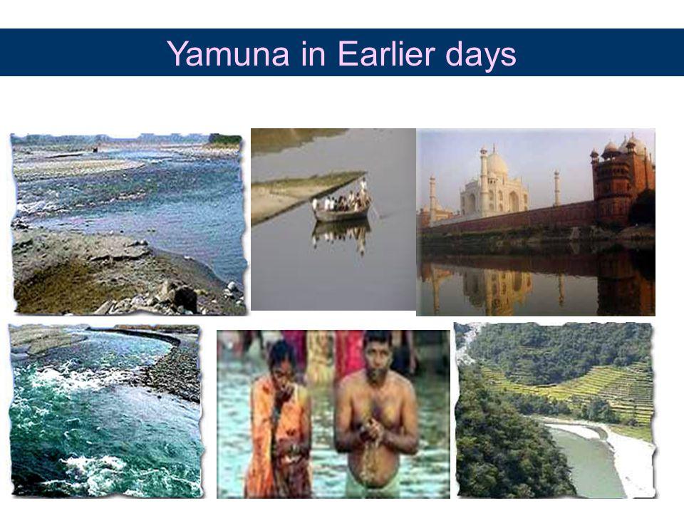 Yamuna in Earlier days