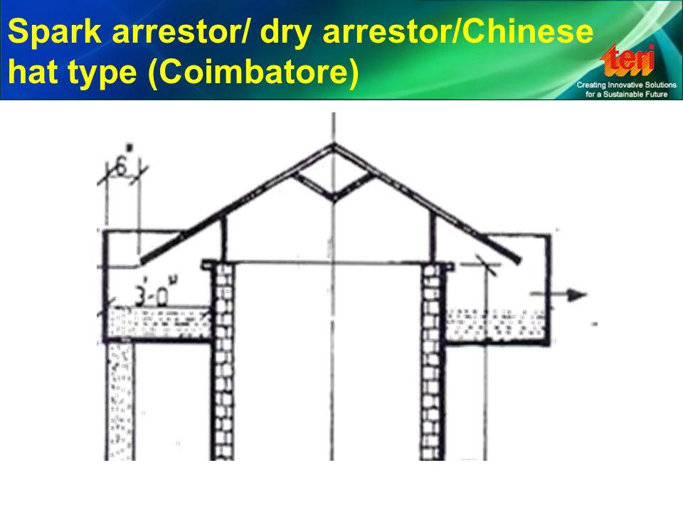 Spark arrestor/ dry arrestor/Chinese hat type (Coimbatore)