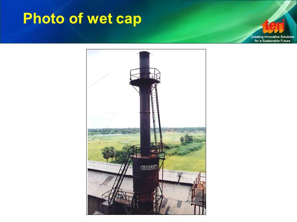 Photo of wet cap