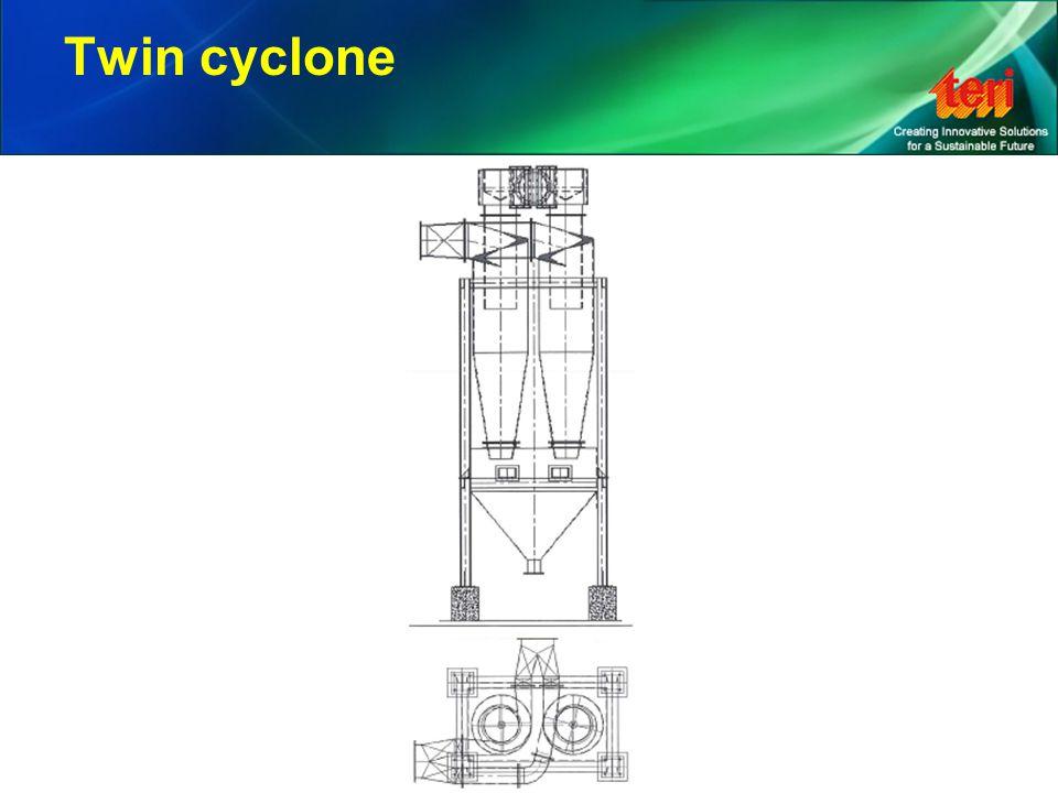Twin cyclone