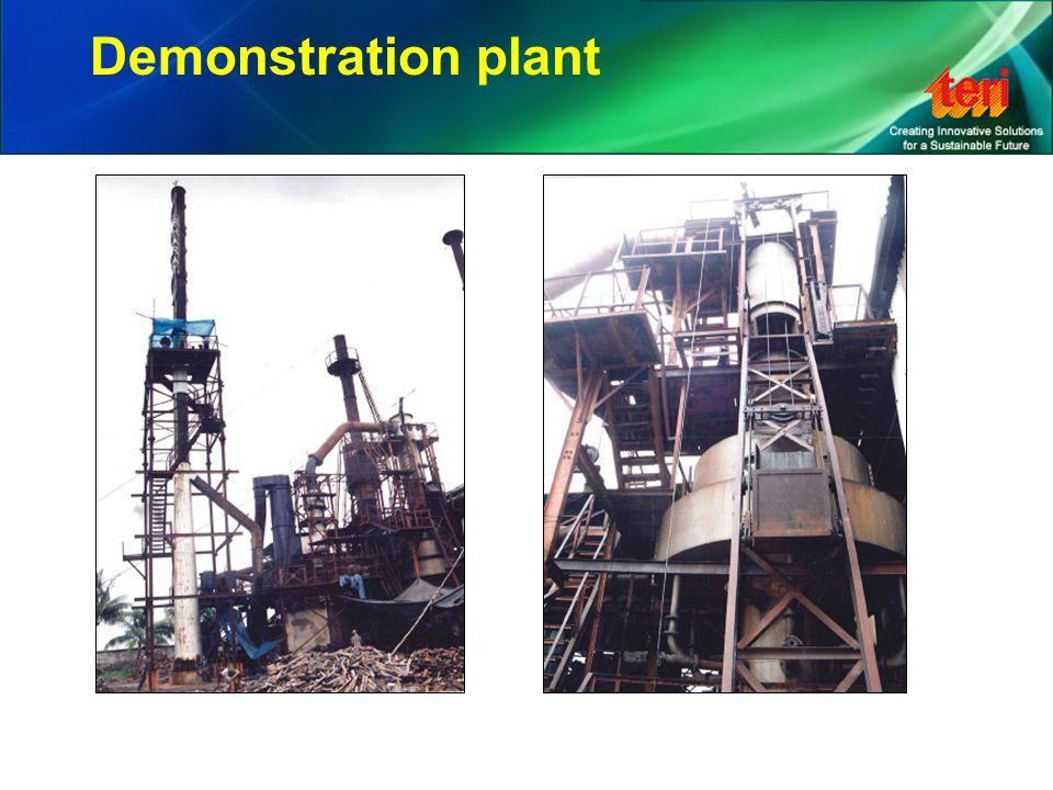 Demonstration plant