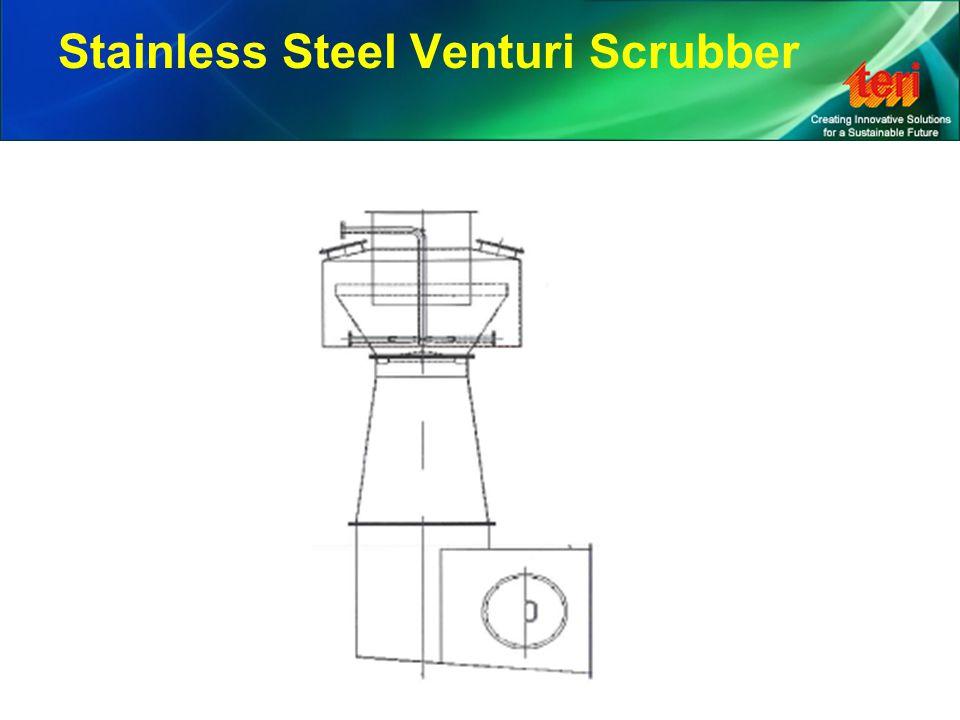Stainless Steel Venturi Scrubber