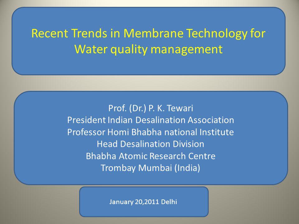 SWRO Desalination Plant at Minjur Chennai (India) set up by IVRCL & BEFESA (Spain) on DBOOT Basis Capacity: 100 MLD Source: CMWSSB