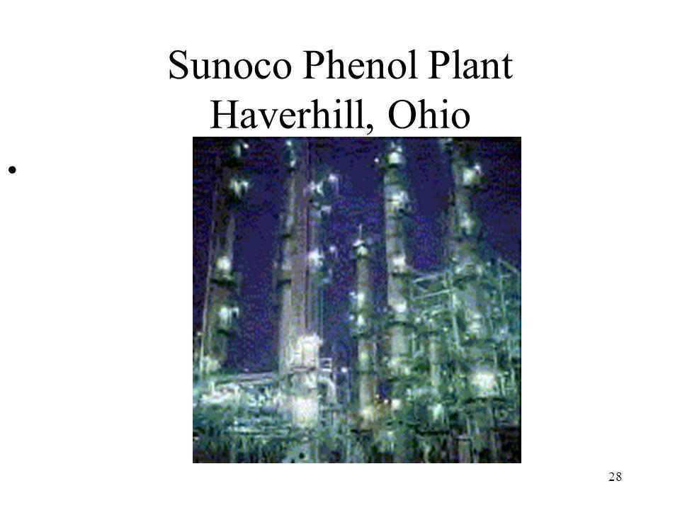 28 Sunoco Phenol Plant Haverhill, Ohio