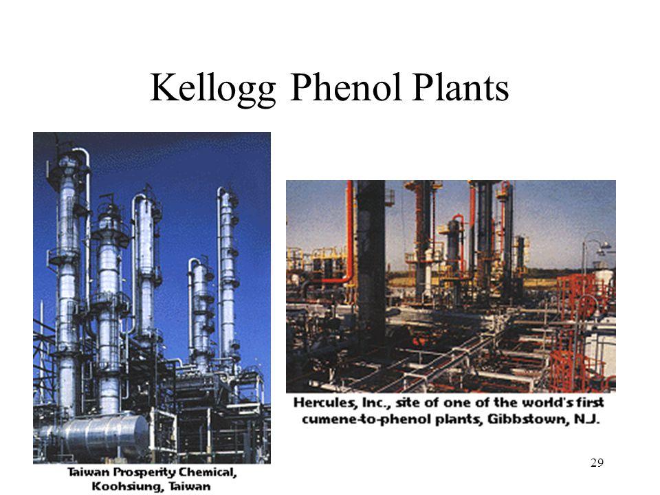 29 Kellogg Phenol Plants