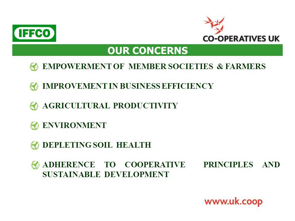  INTER- REGIONAL COLLABORATION BETWENN LA COOP FÉDÉRÉE COOPERATIVE OF CANADA & IFFCO.