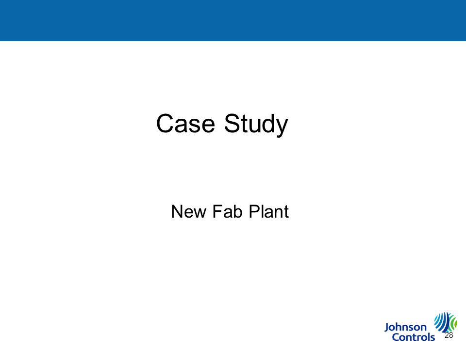 28 Case Study Steps to Building a Sustainability Plan New Fab Plant