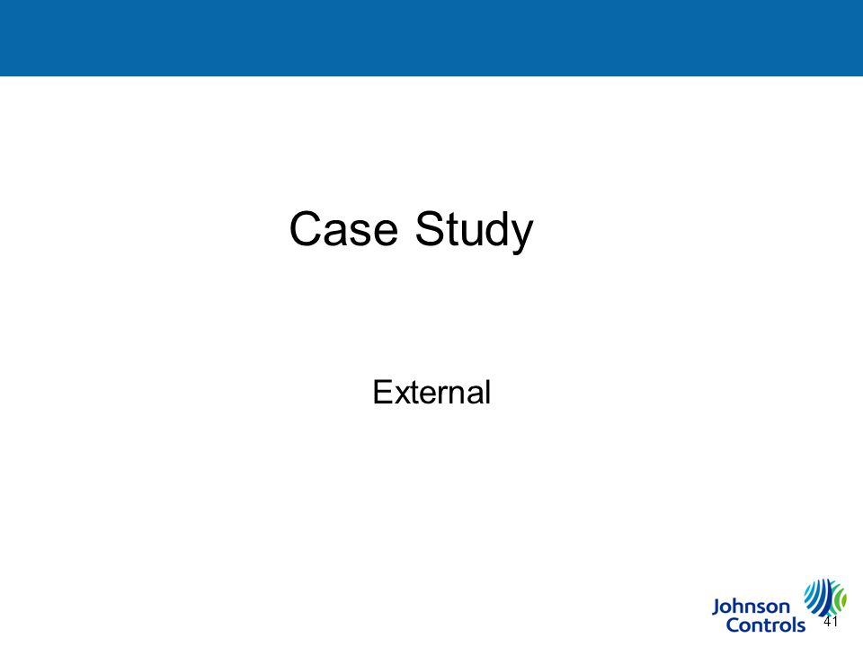 41 Case Study Steps to Building a Sustainability Plan External