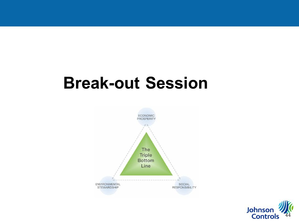 44 Break-out Session