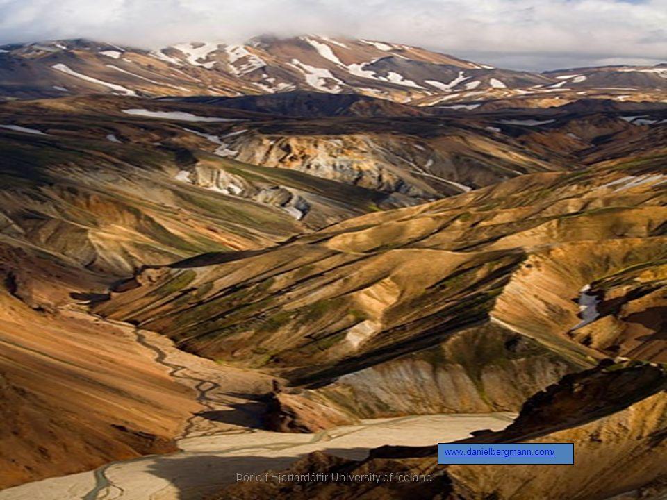www.danielbergmann.com/ Þórleif Hjartardóttir University of Iceland