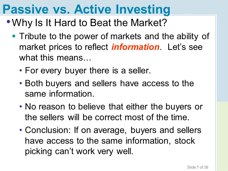 Slide 18 of 36 How to Really Pick Stocks, Seriously 1.Diversify (cont.)  Examples of safer stocks.