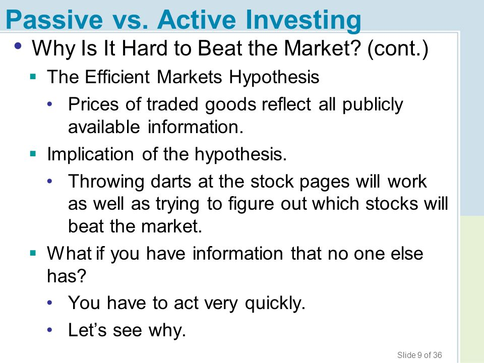 Slide 20 of 36 How to Really Pick Stocks, Seriously