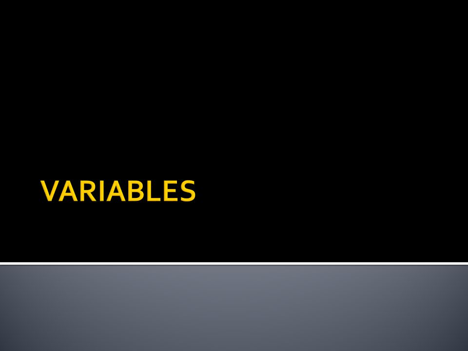  What makes a question testable?  It has variables  It is something we can measure
