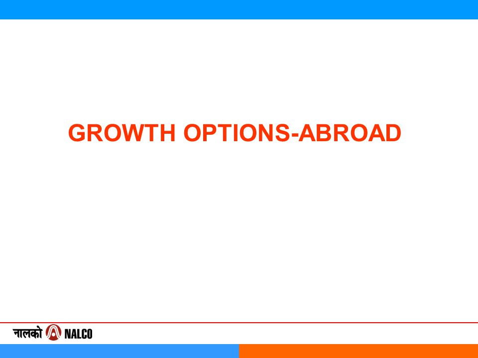 GROWTH OPTIONS-ABROAD