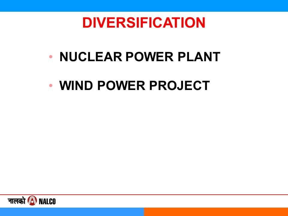 NUCLEAR POWER PLANT WIND POWER PROJECT DIVERSIFICATION