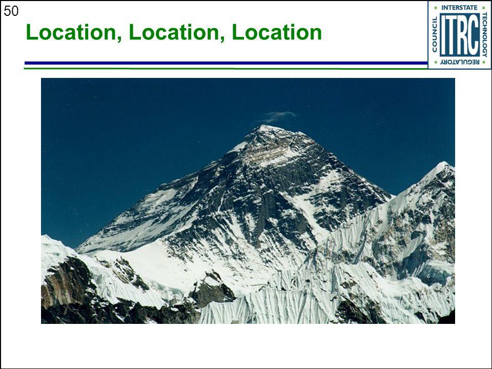 50 Location, Location, Location