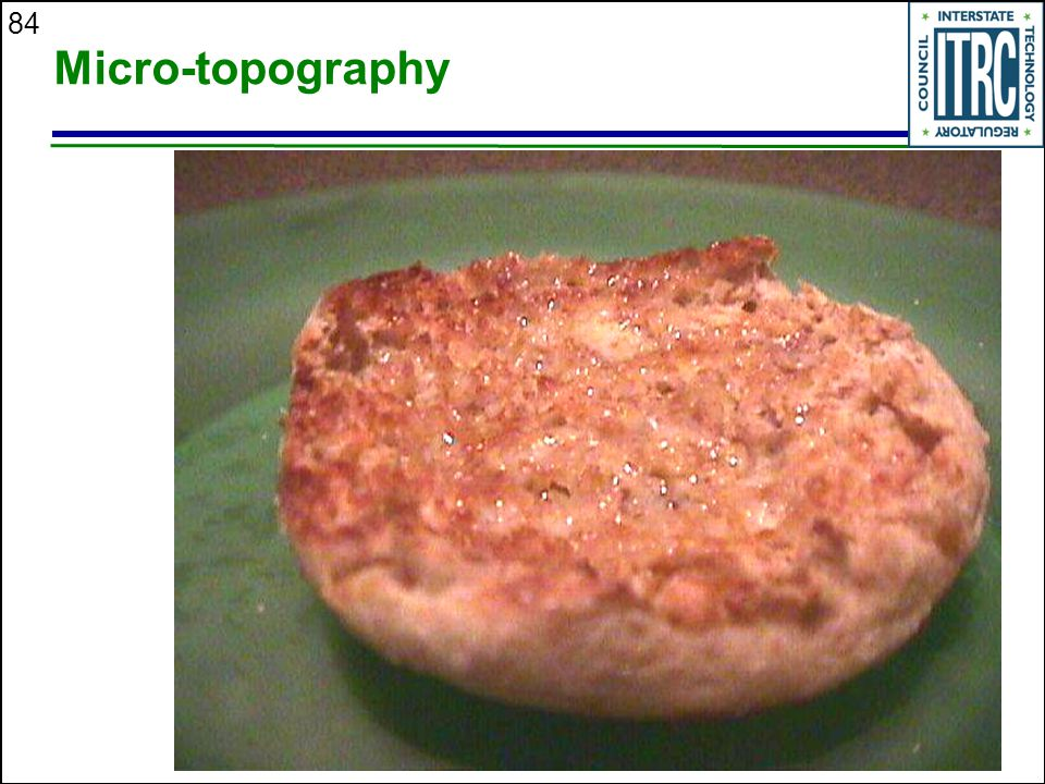 84 Micro-topography