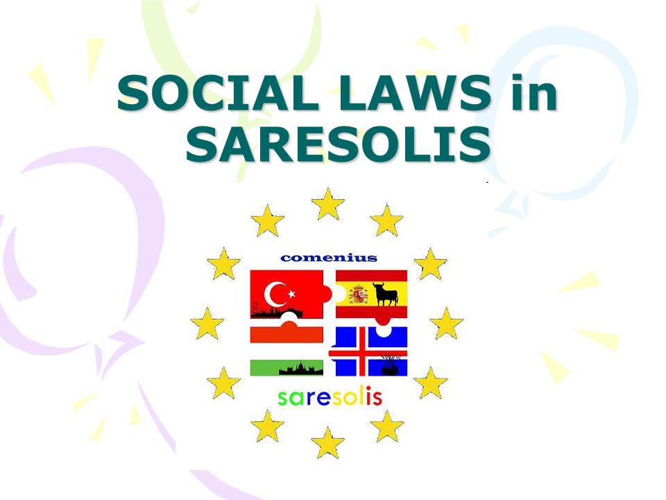 SOCIAL LAWS in SARESOLIS