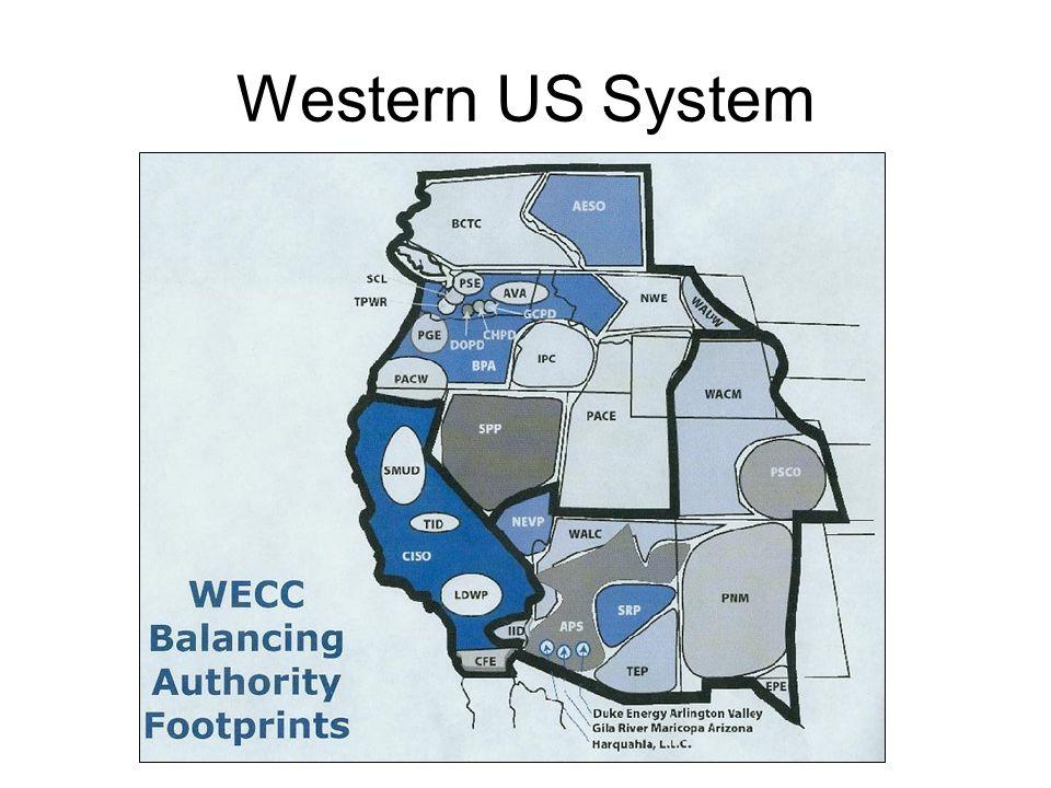 Western US System