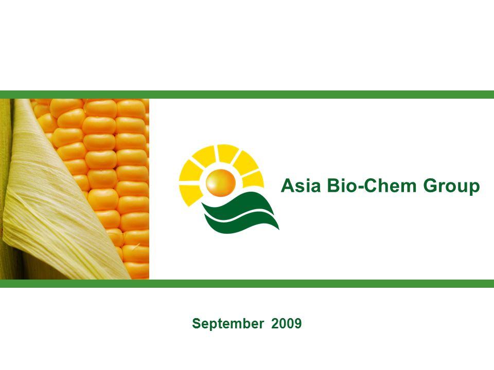 1 Asia Bio-Chem Group September 2009