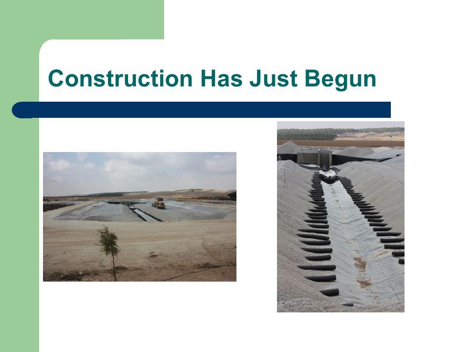 Construction Has Just Begun