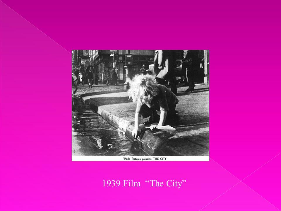 1939 Film The City