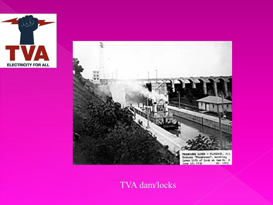 TVA dam/locks