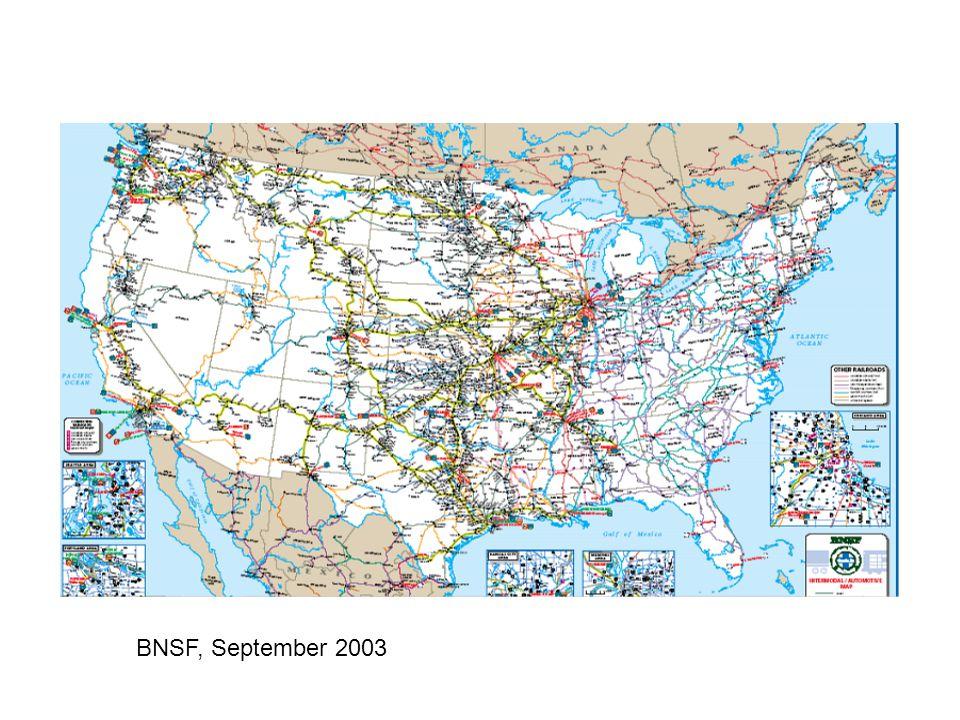 BNSF, September 2003