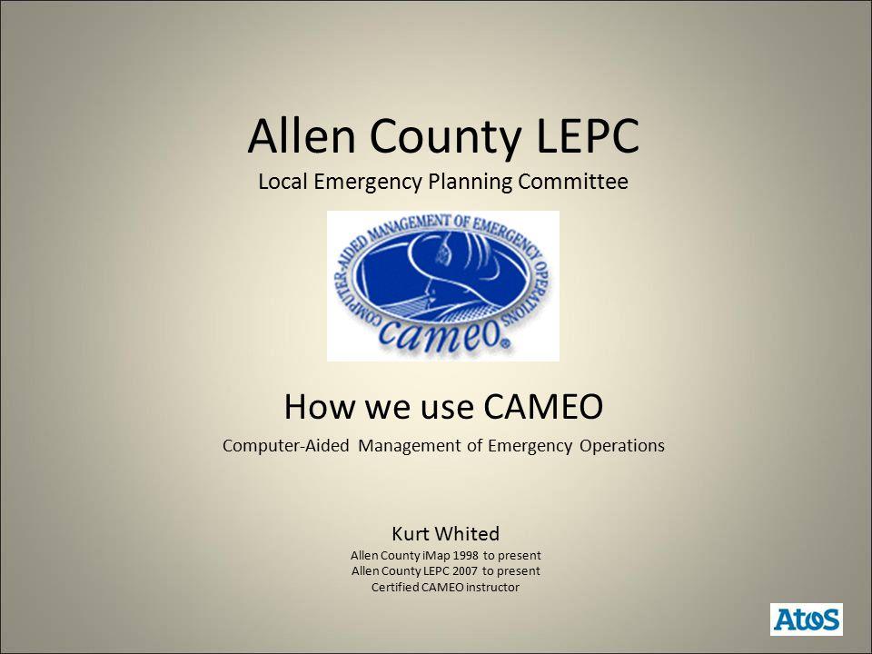 Why do we use CAMEO.