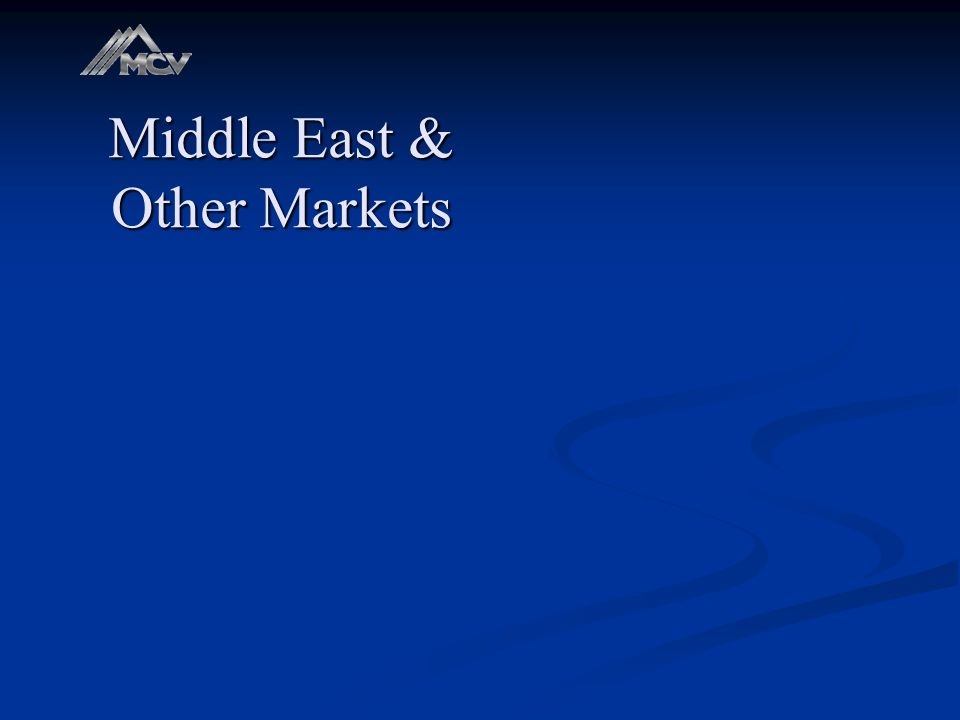Middle East & Other Markets
