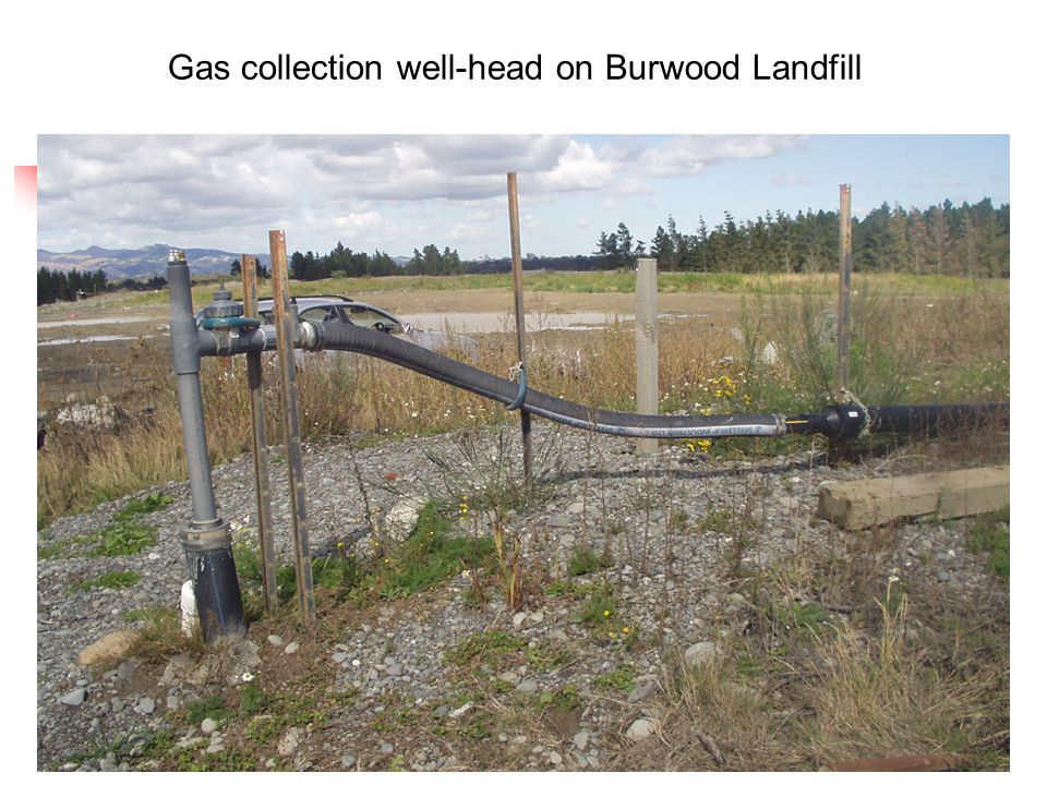 14 Gas collection well-head on Burwood Landfill