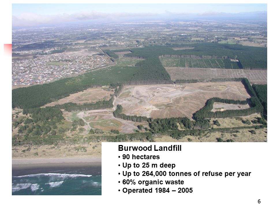 7 Landfill Gas 1000 m 3 of gas per hour 50-60% methane Methane - a powerful greenhouse gas with 22 times more impact on climate change than carbon dioxide.