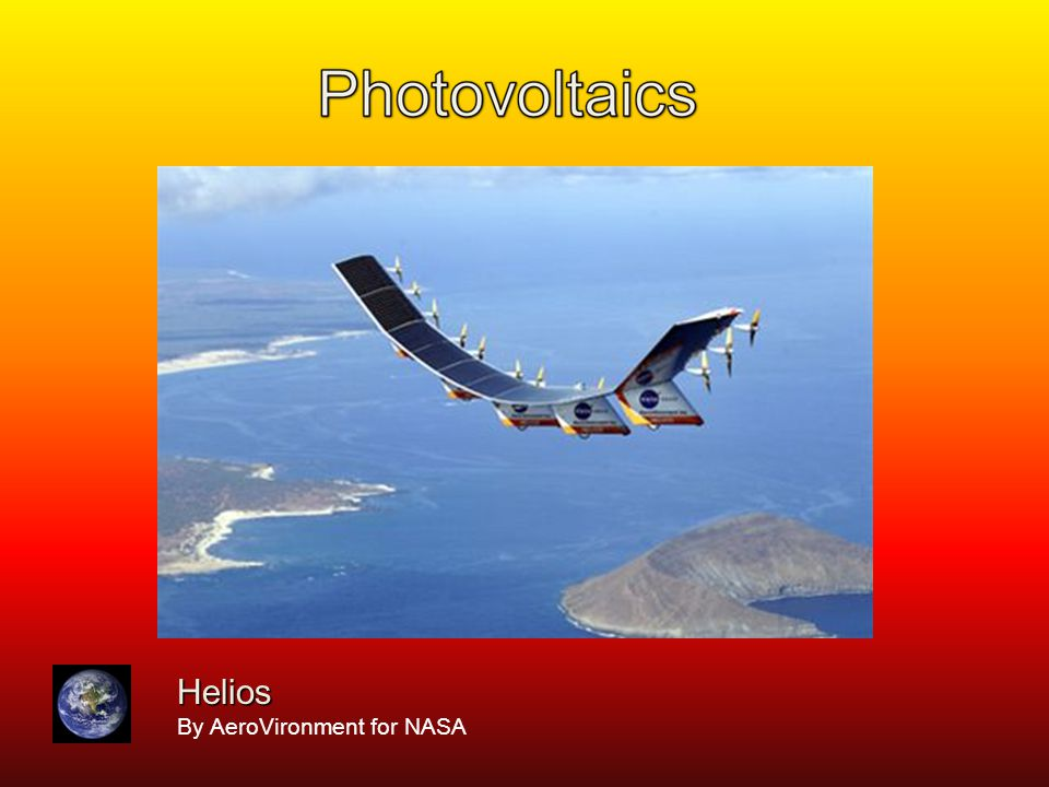 Helios By AeroVironment for NASA