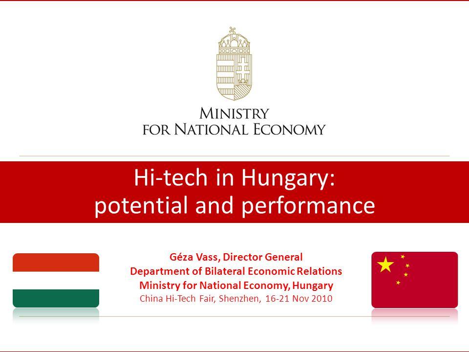 2 Hungary Land: 93,030 km² Population: 10 million GDP/capita, at PPP: EUR 14,900/ USD 18,840 (2009) (wiiw, EIU ) Member of EU since 2004