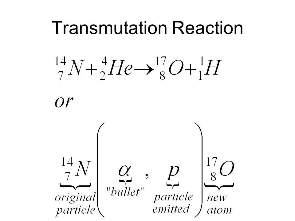 Transmutation Reaction