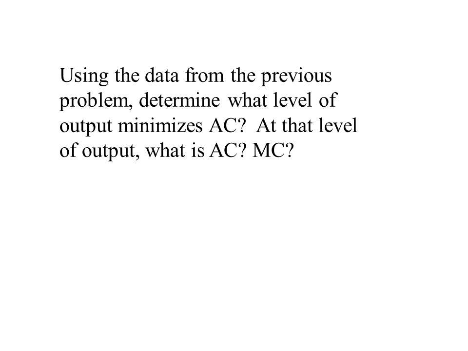 Properties of Cost Functions