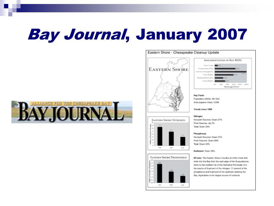 Bay Journal, January 2007